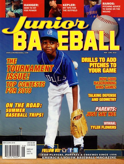 Junior Baseball Cover - 5/1/2018