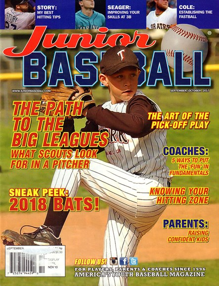 Junior Baseball Cover - 9/1/2017