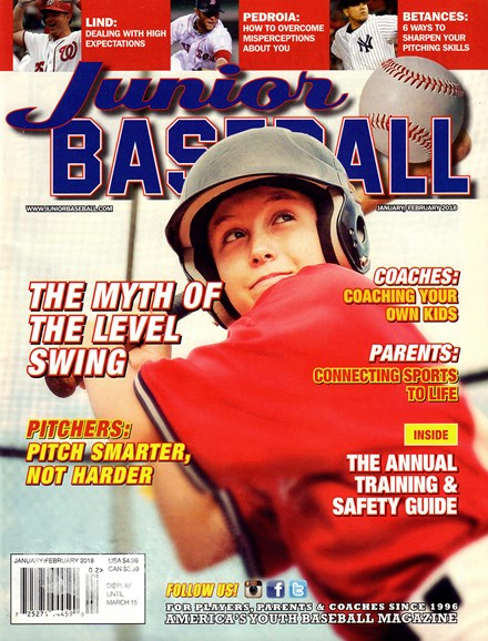 Junior Baseball Cover - 1/1/2018