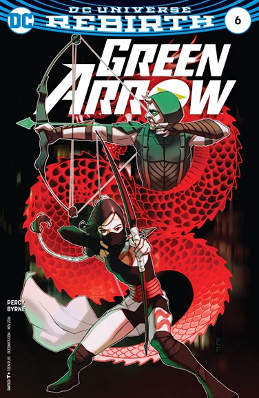 Green Arrow Cover - 11/1/2016