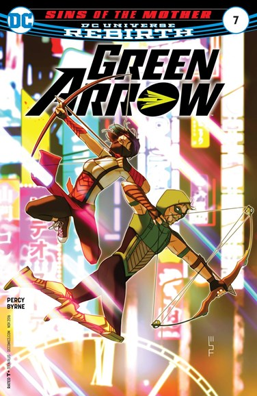 Green Arrow Cover - 11/15/2016