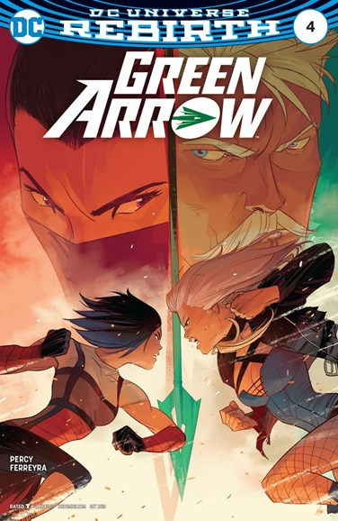 Green Arrow Cover - 10/1/2016