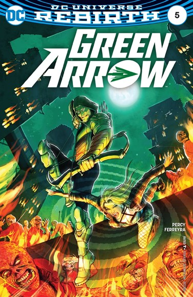 Green Arrow Cover - 10/15/2016