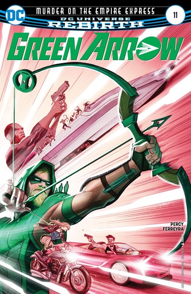 Green Arrow Cover - 1/15/2017