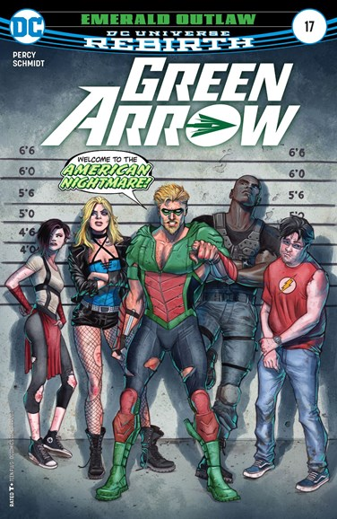 Green Arrow Cover - 4/15/2017
