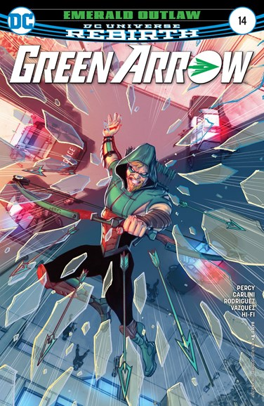 Green Arrow Cover - 3/1/2017