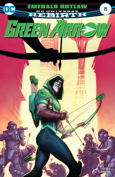 Green Arrow Cover - 3/15/2017