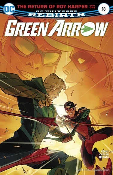 Green Arrow Cover - 5/1/2017