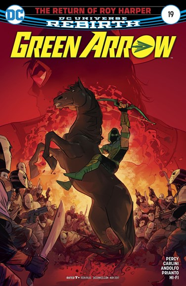 Green Arrow Cover - 5/15/2017