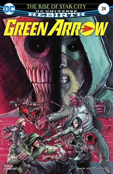 Green Arrow Cover - 8/1/2017