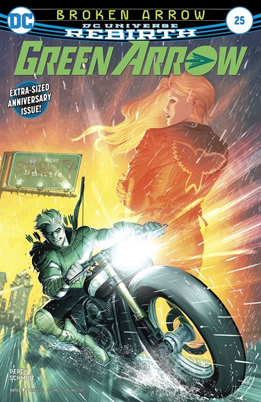 Green Arrow Cover - 8/15/2017