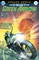 Green Arrow Comic 8/15/2017