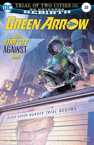 Green Arrow Cover - 12/15/2017