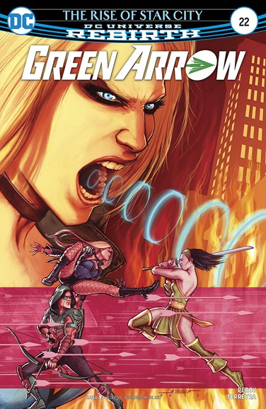 Green Arrow Cover - 7/1/2017
