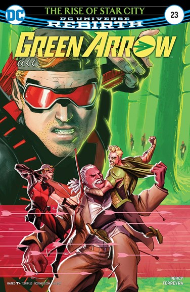 Green Arrow Cover - 7/15/2017