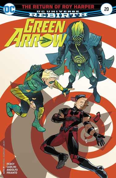 Green Arrow Cover - 6/1/2017