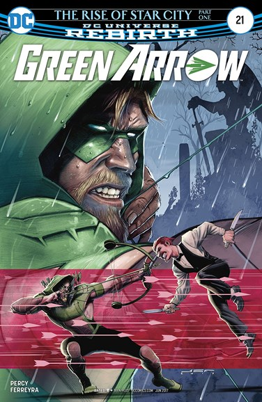 Green Arrow Cover - 6/15/2017