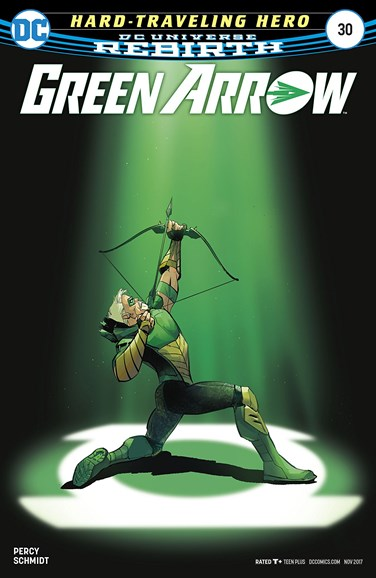 Green Arrow Cover - 11/1/2017