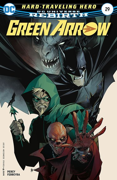 Green Arrow Cover - 10/15/2017