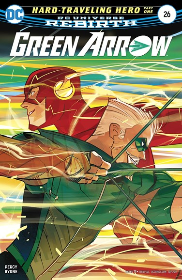 Green Arrow Cover - 9/1/2017