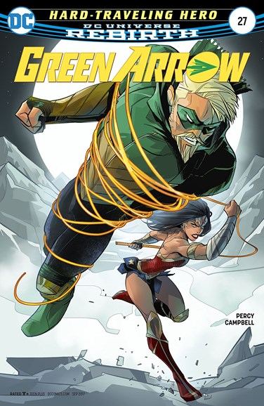 Green Arrow Cover - 9/15/2017