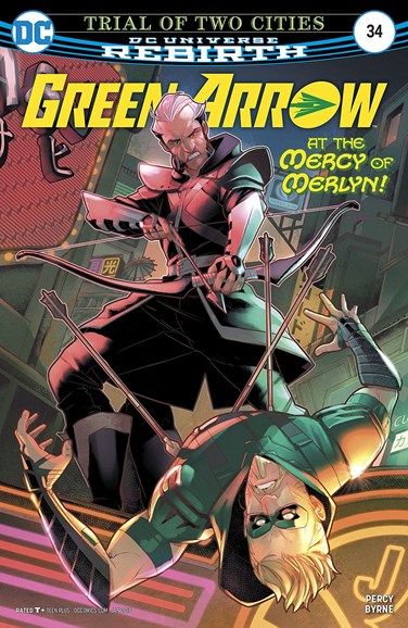 Green Arrow Cover - 1/1/2018