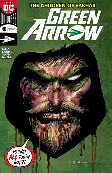 Green Arrow Cover - 7/1/2018