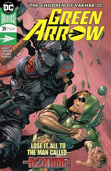 Green Arrow Cover - 6/1/2018