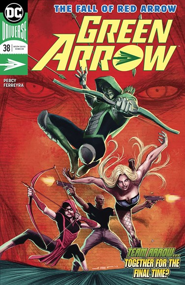 Green Arrow Cover - 5/1/2018