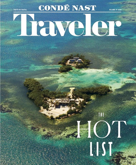 Condé Nast Traveler Cover - 4/1/2018