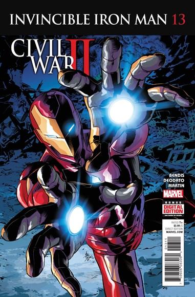 Tony Stark: Iron Man Cover - 11/1/2016