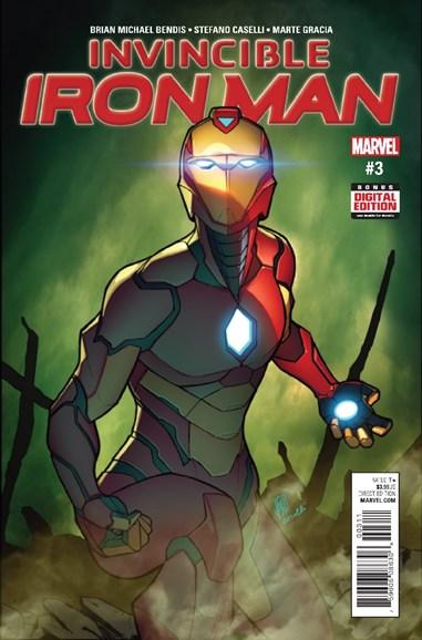 Tony Stark: Iron Man Cover - 3/1/2017