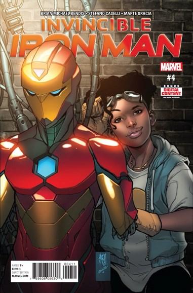 Tony Stark: Iron Man Cover - 4/1/2017
