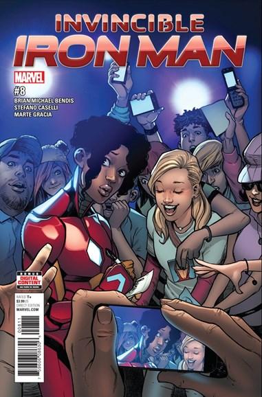 Tony Stark: Iron Man Cover - 8/1/2017