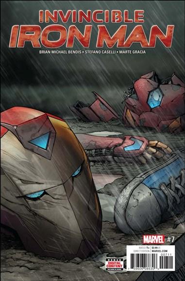 Tony Stark: Iron Man Cover - 7/1/2017