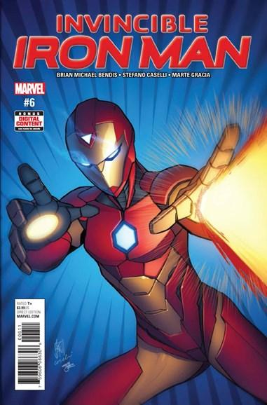 Tony Stark: Iron Man Cover - 6/1/2017