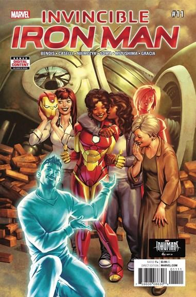 Tony Stark: Iron Man Cover - 11/1/2017