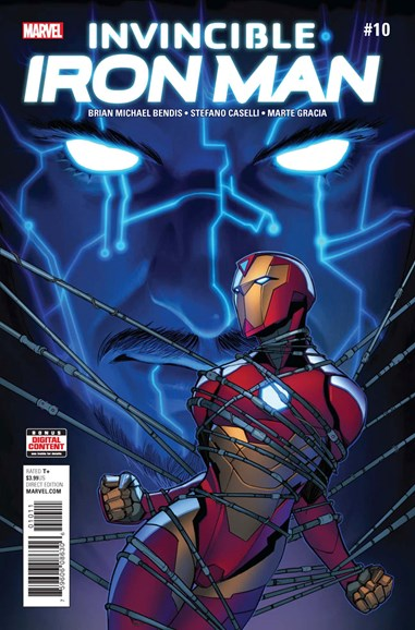 Tony Stark: Iron Man Cover - 10/1/2017