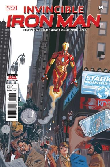 Tony Stark: Iron Man Cover - 9/1/2017