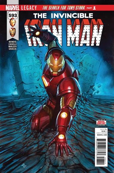 Tony Stark: Iron Man Cover - 12/1/2017