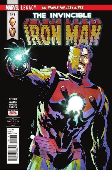 Tony Stark: Iron Man Cover - 4/1/2018