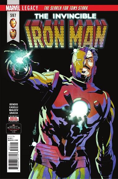 Tony Stark: Iron Man Cover - 4/1/2018