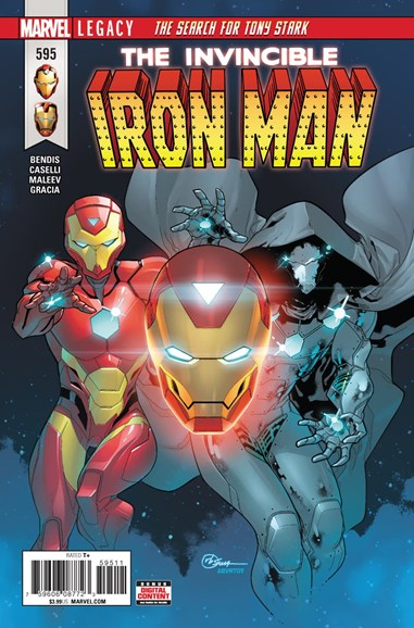 Tony Stark: Iron Man Cover - 2/1/2018