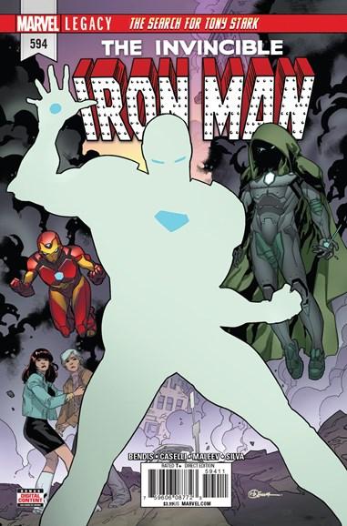 Tony Stark: Iron Man Cover - 1/1/2018