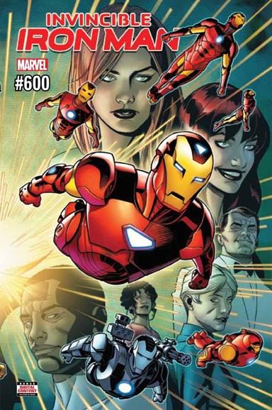 Tony Stark: Iron Man Cover - 7/1/2018