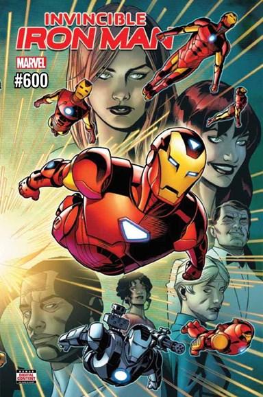Tony Stark: Iron Man Cover - 7/1/2018