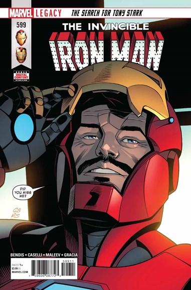 Tony Stark: Iron Man Cover - 6/1/2018