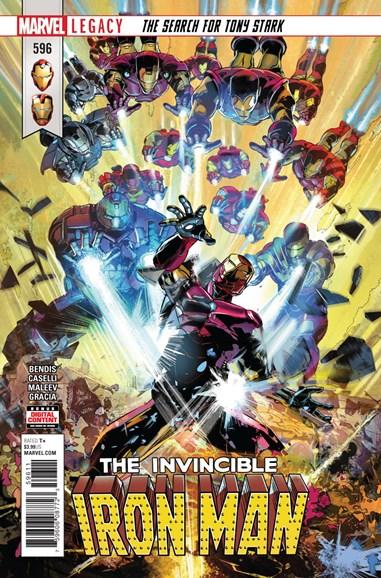 Tony Stark: Iron Man Cover - 3/1/2018