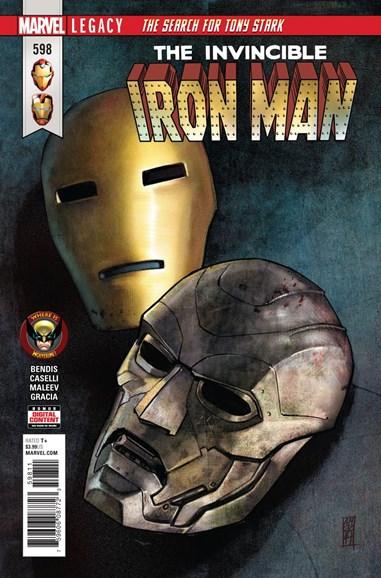 Tony Stark: Iron Man Cover - 5/1/2018