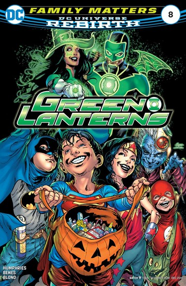 Green Lanterns Cover - 12/1/2016
